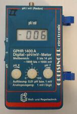 Greisinger Electronic GPHR 1400 A Digital Meß und Regeltechnik pH mV Redoxmeter