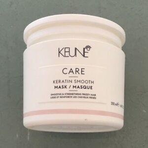 KEUNE Care Keratin Smooth Hair Mask Smooths & Strengthens 200 ml 6.8 fl oz
