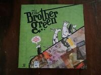 The Brother Green ?– No Country For Young Men Book + Digipack Cd Sigillato