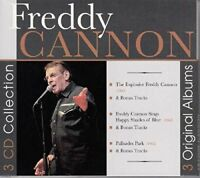 Freddy Cannon - 3 Original Albums [CD]