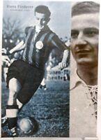 Hans Fiederer + Fürth + Fußball Nationalspieler DFB + Fan Big Card Edition B678