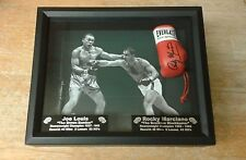ROCKY MARCIANO vs JOE LOUIS FIGHT  OF THE CENTURY BOXING DISPLAY