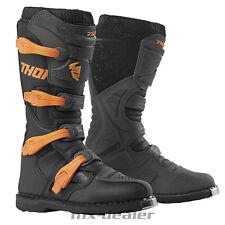 Thor Blitz XP Offroad MX Stiefel schwarz orange Motocross Enduro Cross boot