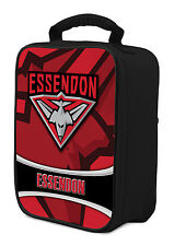 AFL Essendon Bombers COOLER BAG Zip opening insulated Drink School Lunch Box