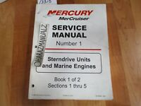 Mercury MerCruiser Marine Engine & Stern Drive Units #1 Service Manual
