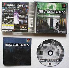 BELTLOGGER 9 sur Sony PLAYSTATION 1 PS1 Japan