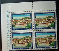 1991 Italia cuarteto Turismo Cagli 600 liras MNh