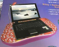 Multi portátil bandeja de Cojín Almohadilla Lap Casa De Trabajo Lámpara LED de escritorio portátil acolchado NUEVO