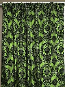 New Creations Fabric & Foam Inc, Damask Flocking Taffeta Backdrop Drape Curtain