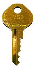 Master Lock Padlock 1525 1585 2010 2076 Control Key OEM Original Master Key V52