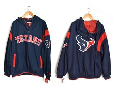 Houston Texans NFL Windbreaker XXL Jacket Black Red Bull Toro Football Texas