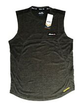 Men'S Ellesse Glendino Performance Vest - Olive Speck Marl- Size Medium *New*