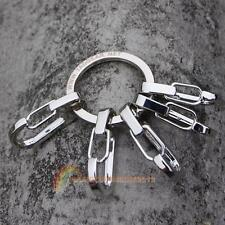Aluminum Carabiner Clip Hook Keychain Hiking Climbing Buckle Keychain Tool NEW