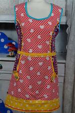 Glücksgöttin ♥ fair & vegan ♥ schönstes Kleid Tunika Vintage Pippi Dawanda 36/38