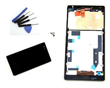 For Sony Xperia T2 Ultra D5316 Black Frame+ LCD Screen Touch Digitizer Glass Ts