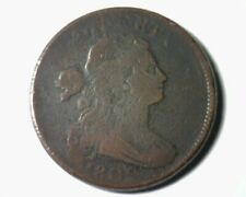 1802 Draped Bust Large Cent Penny Very Good Vg S.238 Rarity 4 Nice Coin