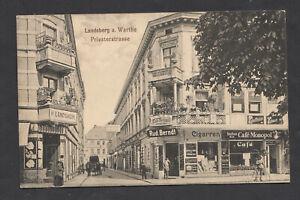 Ak,Landsberg a.Warthe,Priesterstrasse,als Feldpost gelaufen 1917