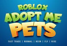 Adopt Me! Pets | Mega | Neon | Legendary | Ultra-rare | Strollers |