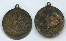 GX453 - Medaille Die Freunde des Friedens - Kaiser Franz Joseph I. & Wilhelm II.