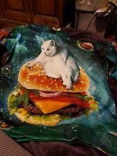 Funny cat hoodie 2X