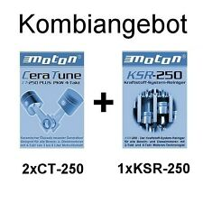 Additiv Motoröl 2 x CT-250 Motorbeschichtung + 1 x KSR-250 System Reiniger