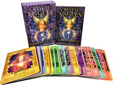 Crystal Angels Oracle Cards: A 44-Card Deck and Guidebook Doreen Virtue