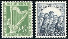 BERLIN 1950, MiNr. 72-73, postfrischer Kabinettsatz, Mi. 140,-