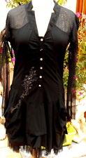robe * la mode est à vous * LMV taille 36 38 modele pretty noir m/long neuf s/et