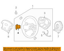Right Genuine Hyundai 96700-3L016-WK Steering Remote Control Switch Assembly