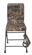 BANDED SWIVEL BLIND CHAIR PADDED SEAT HUNTING STOOL REALTREE MAX 5 CAMO TALL NEW