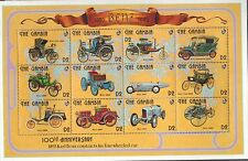 GAMBIA MNH 1993 100th ANNIV OF THE BENZ AUTOMOBILE FULL SHEET OF 12