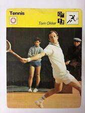 CARTE EDITIONS RENCONTRE 1978 / TENNIS - TOM OKKER