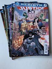 Justice League #1-10 set (Dc Rebirth 2016) Vf Jla Tony Daniel art