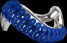 POLISPORT Armadillo Universal 2 stroke Exhaust pipe GUARD MOTOCROSS ENDURO Blue