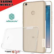 Funda Nillkin Nature para Xiaomi Mi Max 2 gel antideslizante transparente