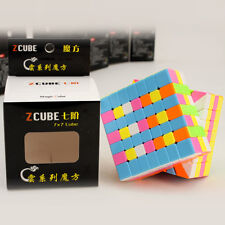 Z-Cube Cloud 7x7x7 Speed Magic Cube Twist Puzzle Intelligence Toys Multi-Color