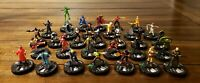Marvel Heroclix Deadpool Fast Forces LOT of 31 Mercy Weapon X Paladin & More!
