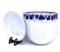 Ceramic Flower Pot Glazed with Saucer Terracotta Round Pot with Drip Tray Bella