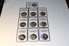 2007 Canada Silver $25 Olympics Coin Set 10pcs