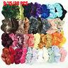 9-20Pcs Velvet Scrunchie Women Girls Elastic Hair Rubber Bands Hair Accessories!