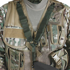 Tactical Assault Vest Sling quick release Black Coyote OD Police Duty Gear Army