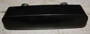 BMC MORRIS MINOR LATE GLOVEBOX PLASTIC HANDLE WITH SCREWS.