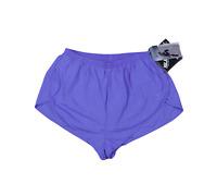 """NOS Vtg 90s Nike Mens Medium Spell Out Lined Nylon 1.75"""" Running Shorts Purple"""