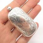 Webster+Co.+Antique+Art+Deco+925+Sterling+Silver+Ornate+Coin+Holder+Case