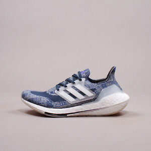 Adidas Running Ultraboost 21 Primeblue Blue White Sashiko New Men Shoes FX7729