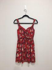 Brand New The Kooples Floral-Print Chiffon Dress Size XS
