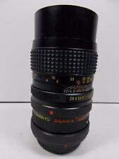 Osawa MC 135mm 1:2.8 Canon f/d lens With Osawa MC4 2X Tele Converter