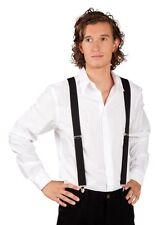 Bretelles noires montées sur élastique paire de bretelles 6005908n costume fetes