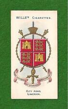 LIMERICK CITY  Coat of Arms LUIMNEACH MUNSTER  1905 original print vintage card