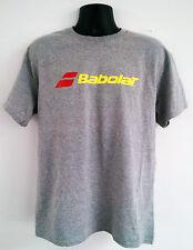 Babolat Tennis T-Shirt Cotton/Polyester SPORT GREY X-LARGE